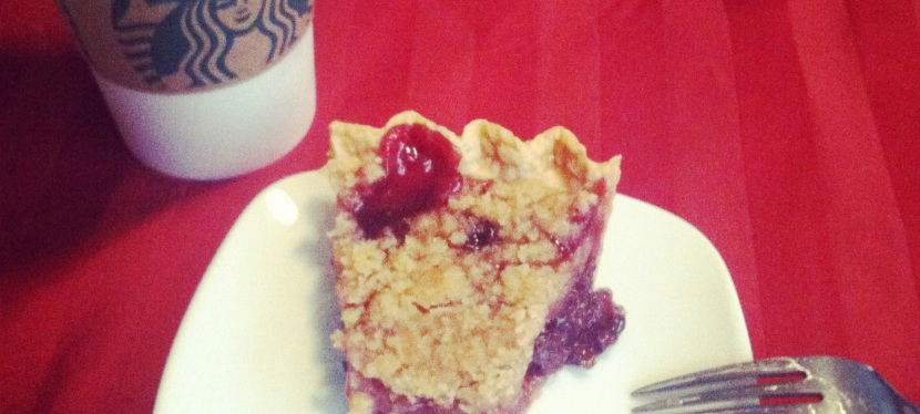 Let's Talk Pie: Cherry Crumb Pie