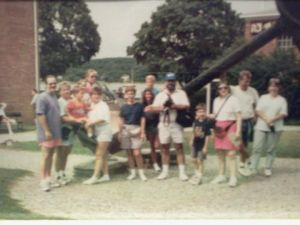 A Labor Day trip to Mystic, CT (taken in the early-mid 90's).