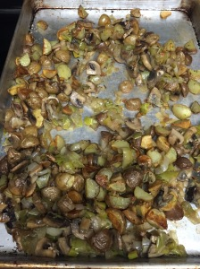 Yummy roasted vegetables--my favorite!