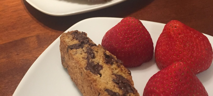 Coffee Break – Chocolate Chip Pecan Biscotti